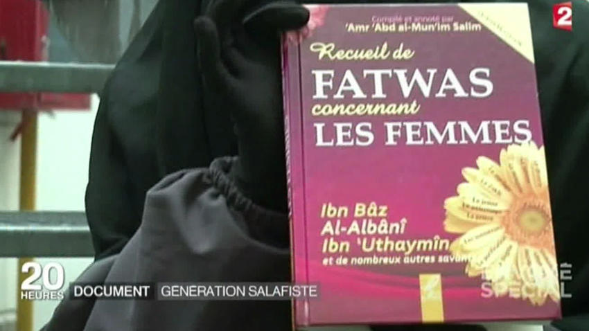 Salafist book: A collection of fatwas concerning women