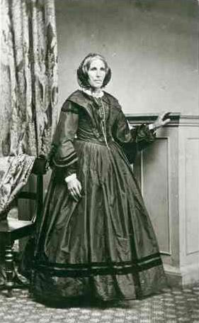 Mrs. James Smith ca.1865